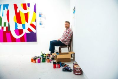 Past pupil, street artist Maser, featured in The Irish Times
