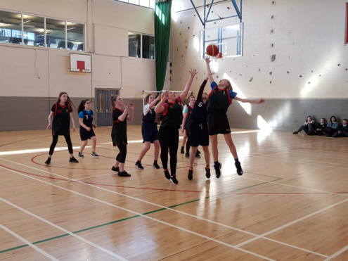 Girls Basketball Colaiste Chilian 20190208 111214