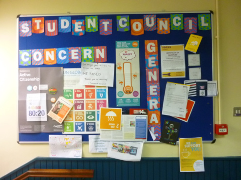 Student Council - Concern Fast - December 2019 Photo: Ms O'Kelly