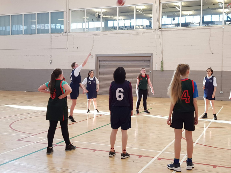 Girls Basketball Colaiste Chilian 20190208 111503