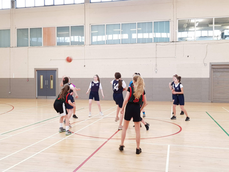 Girls Basketball Colaiste Chilian 20190208 120207
