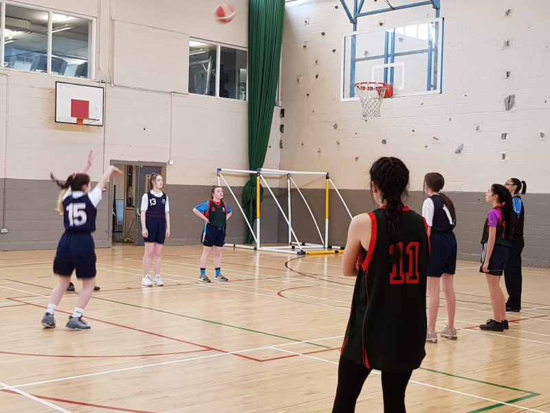 Girls Basketball Colaiste Chilian 20190208 120345