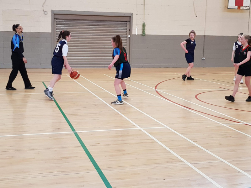 Girls Basketball Colaiste Chilian 20190208 121015