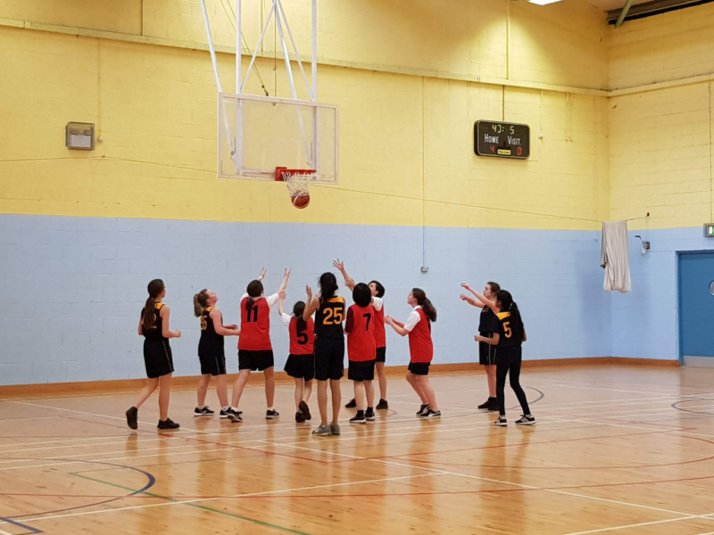 Girls Basketball Colaiste Chilian 20190213 131738